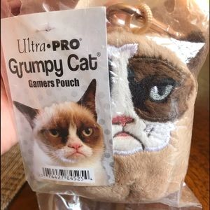 Grumpy Cat Plush Pouch